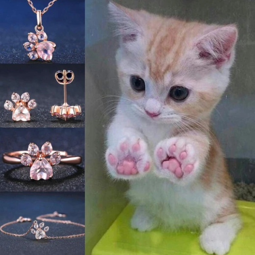 Cute Paw Ring