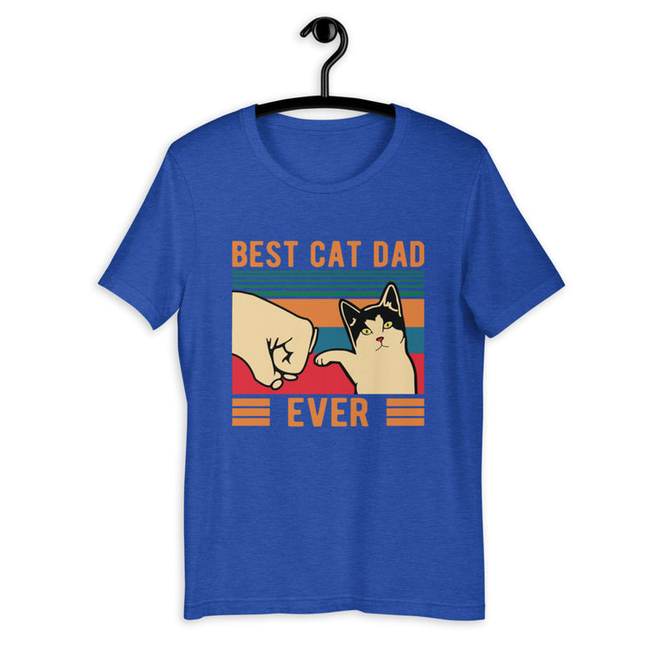 Best Cat Dad Unisex T-Shirt