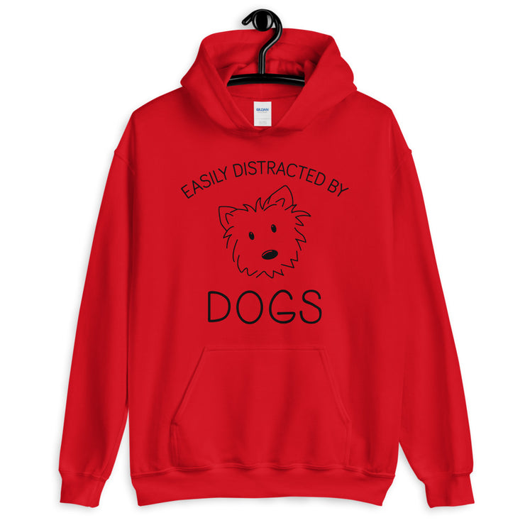 EASILY DISTRACTED Unisex Hoodie