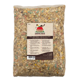 Seedzbox Ultimate Deluxe Bird Food Seed Mix with Giant Mealworms & Suet Pellets, 2kg & 5kg - 5% of Sales donated to OneTreePlanted.