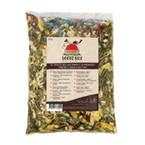Seedzbox Ultimate Deluxe Parrot & Parakeet Feed Seed & Nut Mix 2kg - 5% of Sales donated to OneTreePlanted.