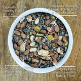 Seedzbox Ultimate Deluxe Squirrel Food Seed & Nut Feed Mix 900g