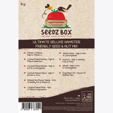 Seedzbox Ultimate Deluxe Hamster Feed Seed & Nut Mix 1kg - 5% of Sales donated to OneTreePlanted.
