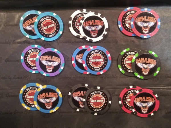 Eagle Rock Harley-Davidson Poker Chip