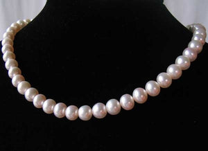 2 Premium Perfect Skin Natural White 8mm Pearls 10059 - PremiumBead