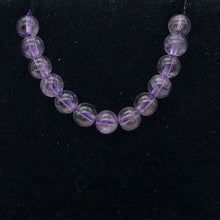 Load image into Gallery viewer, Lilac Natural 4mm Amethyst Round Bead Strand | ~96 Beads | 10813 - PremiumBead