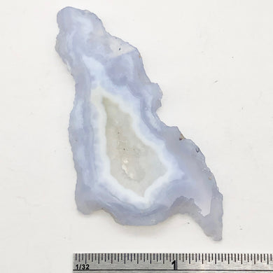 68.5cts Druzy Blue Chalcedony Designer Pendant Bead for Jewelry Making - PremiumBead
