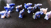 Load image into Gallery viewer, Wild 2 Sodalite Hand Carved Winged Dragon Beads | 21x14x9mm | Blue white - PremiumBead