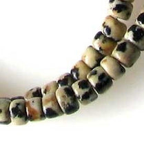 Load image into Gallery viewer, Spots Dalmatian Jasper Wheel Bead 8 inch Strand 9542HS - PremiumBead