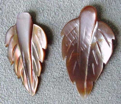 Premium Pink Mussel Shell Leaf Pendant Beads 4326E - PremiumBead Primary Image 1