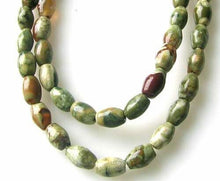 Load image into Gallery viewer, Raintree Rhyolite Jasper Rice Bead 8 inch Strand 9543HS - PremiumBead Primary Image 1
