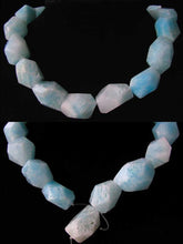 Load image into Gallery viewer, 850cts Hemimorphite Faceted Nugget Bead Strand 110390J - PremiumBead