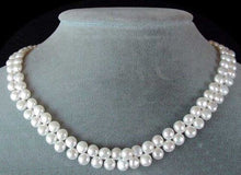Load image into Gallery viewer, Divine top-Drilled Creamy White Pearl Strand 104762 - PremiumBead