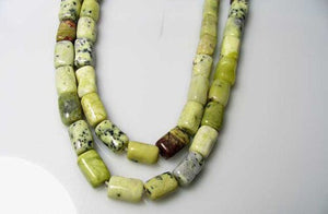 Wow Yellow/Green Turquoise Knuckle Bead Strand 104583 - PremiumBead