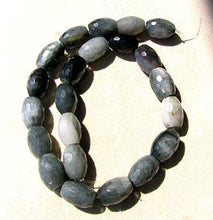 Load image into Gallery viewer, Cat's Eye Chrysoberyl Quartz Faceted 16-18x12mm Barrel Bead Strand 107519 - PremiumBead