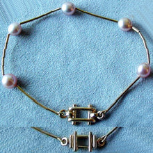 Load image into Gallery viewer, Supple Smooth As Satin Delicate Pink Pearl & 14Kgf Bracelet 400002 - PremiumBead