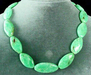 384.5cts Minty Green Chrysoprase Bead Strand 102230 - PremiumBead