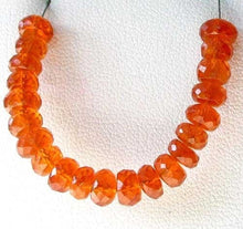 Load image into Gallery viewer, 1 AAA Spessarite Garnet 5-6mm Faceted Roundel Bead 7467 - PremiumBead Primary Image 1