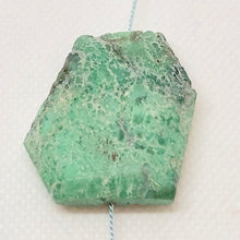 Load image into Gallery viewer, 75cts Faceted Chrysoprase Nugget Bead Huge 10134A - PremiumBead