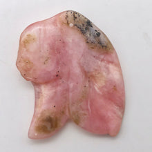 Load image into Gallery viewer, 18.9cts Hand Carved Amazing Pink Peruvian Opal Flower Bead 9861S - PremiumBead Alternate Image 3