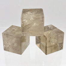 Load image into Gallery viewer, Natural Smoky Quartz Cube Specimen | Grey/Brown | 21.5x21.5mm | ~25g - PremiumBead