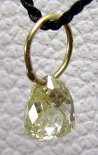 Load image into Gallery viewer, 0.23cts Natural Canary Diamond 18K Gold Pendant 8798G - PremiumBead