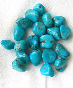 1 Stunning Natural Turquoise Focal Bead 7537C - PremiumBead