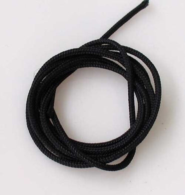 Black 1.8mm Braided Polyester Cording 3 Feet 9877Bl - PremiumBead Primary Image 1