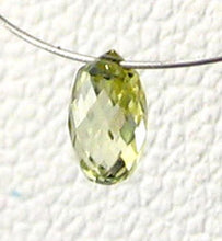 Load image into Gallery viewer, Natural Canary Diamond 4.25x2.75mm Briolette Bead .26cts 6110 - PremiumBead Alternate Image 3