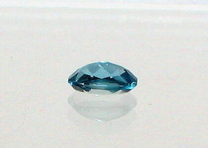 Sparkling Swiss Blue Topaz Faceted 5x7mm Oval Stone 6994 - PremiumBead