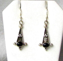 Load image into Gallery viewer, Stunning Oval Black Onyx 925 Sterling Silver Drop/Dangle Earrings W/Hook 4719 - PremiumBead