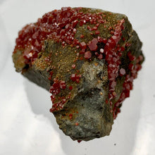 Load image into Gallery viewer, Vanadinite - Orange Red Sparkling Crystals Display Specimen |45x35x28mm | 36.2gr - PremiumBead
