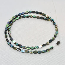 Load image into Gallery viewer, Gorgeous! Abalone Oval Coin 6x4mm Bead Strand! 104556 - PremiumBead Alternate Image 2