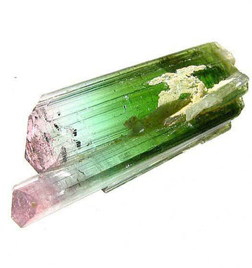 Natural Watermelon Twin tourmaline Specimen 55cts 8947A - PremiumBead