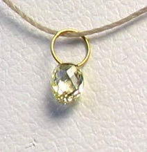 Load image into Gallery viewer, 0.26cts Natural Canary Diamond & 18K Gold Pendant 8798N - PremiumBead Alternate Image 2