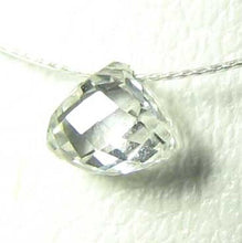 Load image into Gallery viewer, 0.28cts Natural White Diamond Tabiz Briolette Bead 10617C - PremiumBead Alternate Image 2