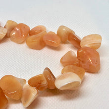 Load image into Gallery viewer, Tangerine Botswana Nugget Briolette Beads 005098 - PremiumBead