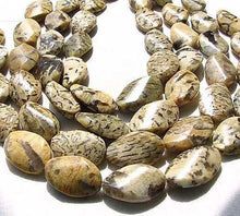 Load image into Gallery viewer, Wild Cat Feldspar Carved Oval Twist Pendant Bead Strand 108899 - PremiumBead