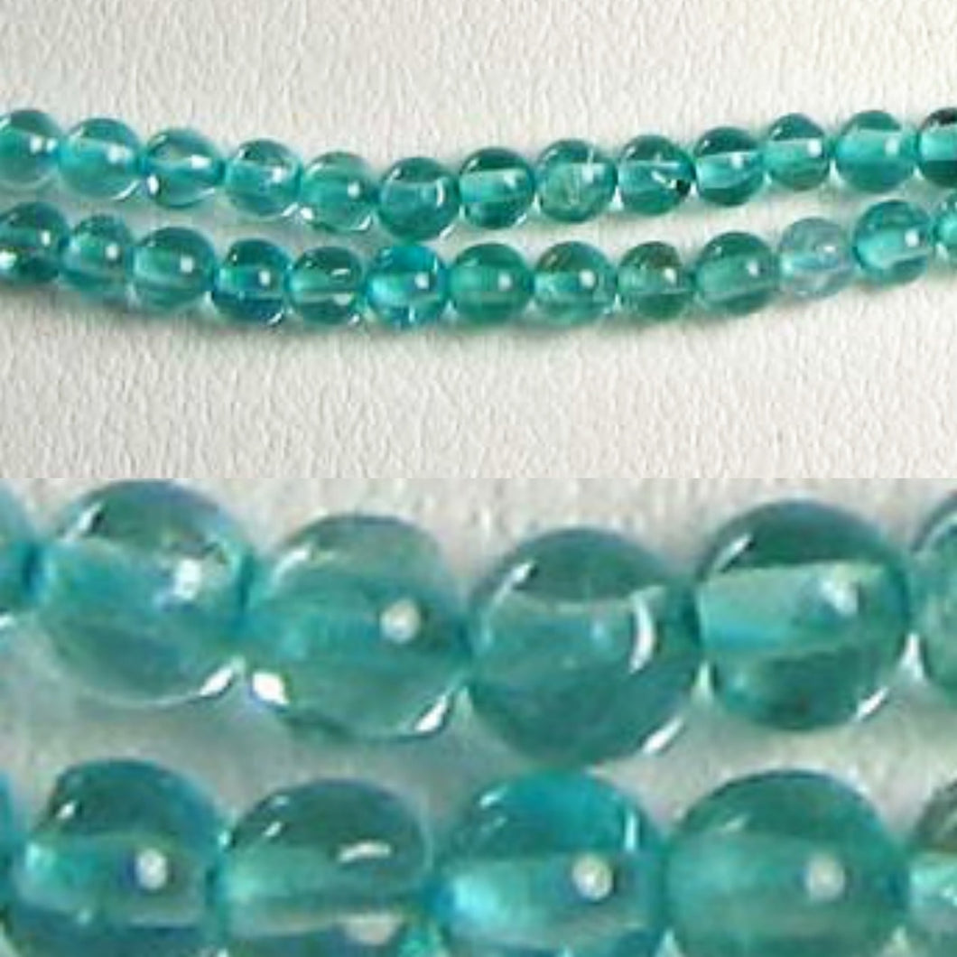 Seafoam Green Apatite 2.5mm Bead 7.5 inch Strand 9639HS - PremiumBead Primary Image 1