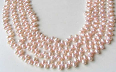Dancing Cotton Candy Pink FW Pearl Strand 108836 - PremiumBead