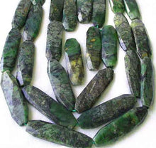 Load image into Gallery viewer, Green Isles Jade Faceted Art Cut Bead Strand 108721 - PremiumBead