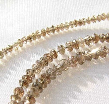 Load image into Gallery viewer, 18cts Natural Champagne Diamond Bead 15 inch Strand 109316 - PremiumBead
