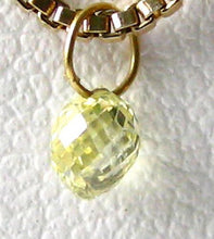 Load image into Gallery viewer, 0.35cts Natural Canary Diamond 18K Gold Pendant 8798Dd - PremiumBead Alternate Image 3