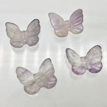 Load image into Gallery viewer, Fluttering 2 Amethyst Butterfly Beads | 21x18x5mm | Purple - PremiumBead
