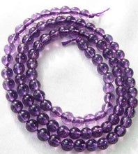Load image into Gallery viewer, Royal Natural 4mm Amethyst Round Bead Strand 109390 - PremiumBead