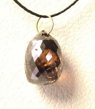 Load image into Gallery viewer, 1 Chocolate Diamond 2.05cts Briolette 18K Pendant 10370E - PremiumBead Alternate Image 3