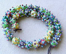 Load image into Gallery viewer, Wow 5 Hob Nail Glass Lampwork Beads 007556 - PremiumBead Alternate Image 2