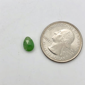 Deep Green Grossular Garnet Faceted Flat Briolette Bead, 8.5x6mm, 5131 - PremiumBead Alternate Image 8