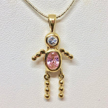 Load image into Gallery viewer, october-crystal-kid-boy-22k-vermeil-pendant-9926jb-11542
