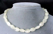 Load image into Gallery viewer, Sparkling Lemon Faceted Calcite Oval Bead Strand 104635 - PremiumBead Primary Image 1